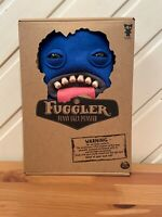 Fuggler Funny Ugly Monster Oogah Boogah Blue Felt Soft Toy BRAND NEW