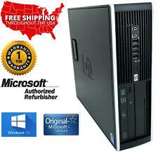 Hp Compaq 8000 Elite Sff Intel Core 2 Duo E8400 3.0Ghz 8Gb 500Gb Windows 10 Pro