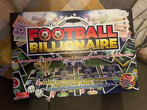 Football Billionaire Board Game Complete