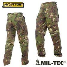 Pantaloni Militari Mil-tec BDU Ripstop Cargo tasconi Softair Survivor Vegetato XL (54)