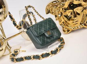CHANEL Small flap bag mini vintage Beltbag Belt Gürteltasche*