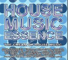 HOUSE MUSIC ESSENCE - CD (NUOVO SIGILLATO) DIGIPACK
