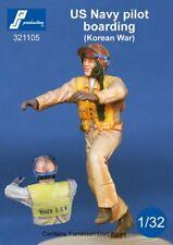1/32 PJ PRODUCTION US NAVY PILOT BOARDING A/C (KOREAN WAR)