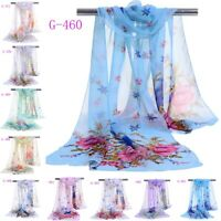 Fashion Girl Women Long soft Wrap scarf Ladies Shawl Chiffon Scarf Scarves Stole