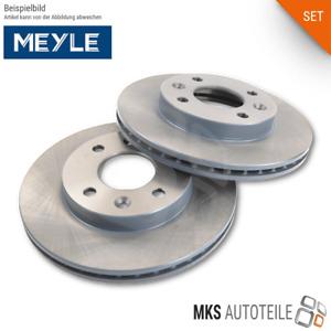 2x MEYLE Bremsscheiben, Bremsen SET/Satz vorne für AUDI VW