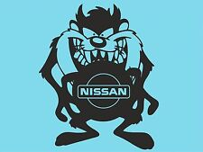 Taz Nissan With Logo Sticker Bumper Rear Car Window Sticker Car Side Window T37