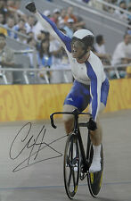 SIR CHRIS HOY Signed 15x10 Photo OLYMPIC GOLD MEDALIST Cycling Champion COA