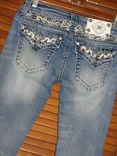MISS ME SIGNATURE BOOT CUT WOMEN'S JEANS ~ SIZE 27 ~ GREAT CONDITION!!