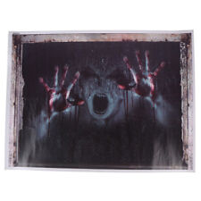 Halloween Decorations 3D Ghost Wall Sticker Removable Horror Decal PosterRGS