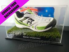 ✺Signed✺ RICKY PONTING Cricket Shoe PROOF COA Australia 2017 Shirt Jersey
