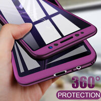 360 Full Protection Phone Cover Case For Samsung Galaxy S9 S8 Plus Note 9 8 S7
