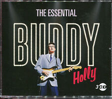 THE ESSENTIAL BUDDY HOLLY - 3 CD BOX SET - OH BOY, TRUE LOVE WAYS & MANY MORE