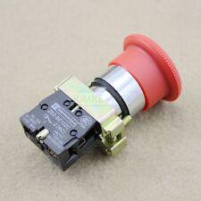 Not Aus Schalter Taster Notschalter für 600V und 10A mit in rotem Knopf