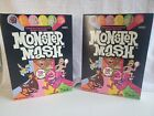 Monster Mash Cereal 2 boxes 50th Anniversary Chocula  Frute Brute Yummy Mummy