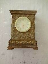 Jane Seymour St Catherine's Court Decorative Clock Antique Gold Signed
