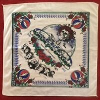 GRATEFUL DEAD 20th Anniversary 20 x 20 Bandana Tapestry JERRY GARCIA - by Jasper