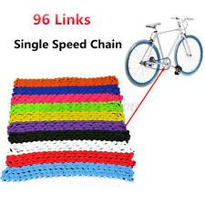 Bicycle Bike Chain Single Speed 1/2''x1/8'' Colours Mountain Bike MTB BMX Fixed
