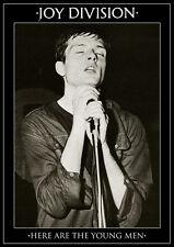 "Joy Division Ian Curtis Young Men NEW 84cm x 60cm (34"" x 24"") B/W POSTER"