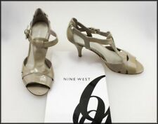 Nine West Women's Patent Leather Medium (B, M) Heels for Women