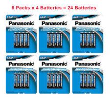 24x Panasonic AAA Batteries Super Heavy Duty Carbon Zinc Retail Fresh:02/2022