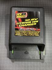 New Bright 12.8V 500mA Lithium Ion Charger ~Original~