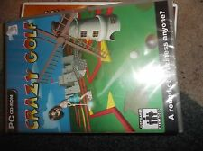 Crazy Golf  PC NEW SEALED