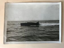 P8/ PHOTOGRAPHIE dans les ANNEES 1920 du CANOT AUTOMOBILE ANGELA III à MONACO