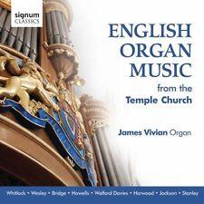 James Vivian - English Organ Music from Temple Church (James Vivian) [CD]