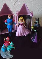 Disney Store Sleeping Beauty Aurora Playset