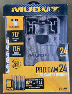 Muddy Pro Cam 24 (MUD-MTC800) - 24MP Trail Camera  (70ft Range, .6sec Trigger)