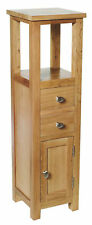 Oak Hallway Side Table Telephone Lamp Plant Stand Bedside Unit Small Cabinet