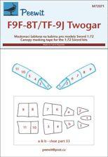 Peewit 1/72 Grumman F9F-8T/TF-9J Twogar # PEE72071