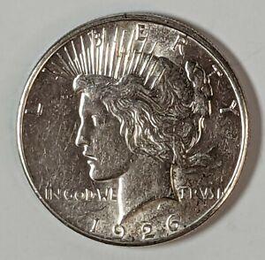 1926-S Peace Silver Dollar Circ