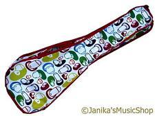 Ukelele Tenor Gig Bag Funda de diseño brillante patrón de 28 pulgadas (71cm) Reino Unido Vendedor