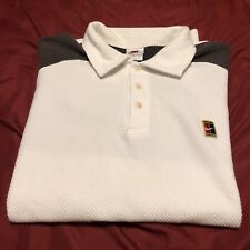 Nike Court Heritage Dri Fit Polo Shirt Men's Size Large USED Mens polo sz L NICE