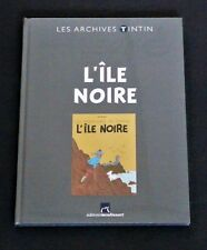 "TINTIN VERY RARE  ""LES ARCHIVES TINTIN"" L'ÏLE NOIRE  NEW & SEALED"
