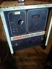 Hobart 600a Dc Arc Welder 3ph Excel Arc 6045 Cv Mig Stick Welding Power Source