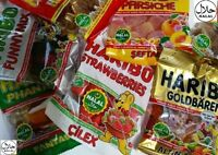 Haribo Halal Sweets Cheapest on Ebay 1.14.28.42 Party Pack  80g - 100g