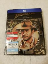 Indiana Jones & the Last Crusade Metalpak Blu Ray Target Sealed (Like SteelBook)