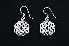 Sterling Silver (925) Celtic Style Earrings #8030