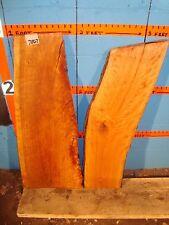 # 7867  2, cherry live edge slabs wood lumber rustic