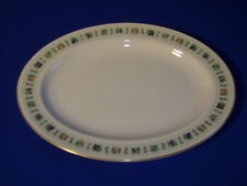 """ROYAL DOULTON CHINA TAPESTRY OVAL SERVING PLATTER 13 1/4"""""""