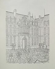JEAN GRADASSI Memoirs of Cardinal Dubois 1950 Set of 10 B&W Illustrations