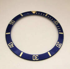 Rolex Submariner Oyster 16613 16803 16618 Blue Gold Watch Insert Bezel Part