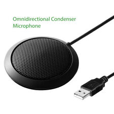Table Top Conference Meeting Microphone USB Office W/ Omni-Directional Stereo BX