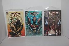 Lot of 3 Big City Comics DRAGON CROSS Books