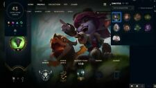 League of Legends account EUW -Silver 4--55 champions--12 skins-