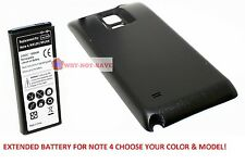 Extended Replacement Internal Battery with back cover for samsung galaxy Note 4