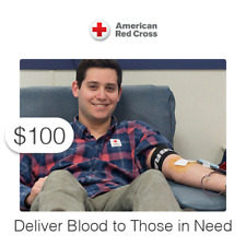 $100 Charitable Donation For: Delivering Blood to Those in Need
