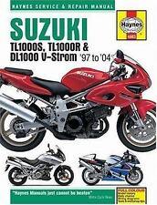1997-2004 Suzuki TL1000S TL1000R DL1000V-Strom Repair Manual 2003 2002 2001 3120